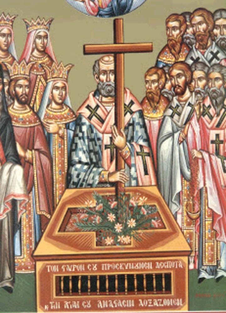 I. Ναός Αγίου Σπυρίδωνος Πύργου: Γ΄ Κυριακή των νηστειών -«Σταυροπροσκυνήσεως»